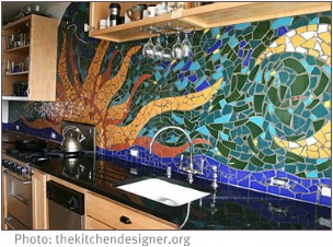 DIY interior decorating movement with murals