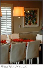 DIY interior decorating movement with texture