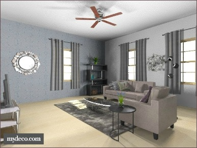 contemporary decorating living room