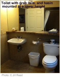 Disabled bathrooms universal design