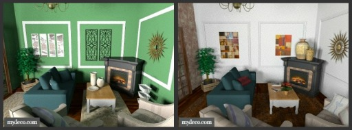 home decor before and after photos | My Web Value