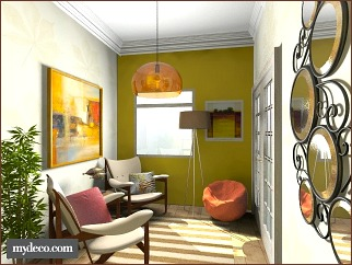 diy home decor narrow room