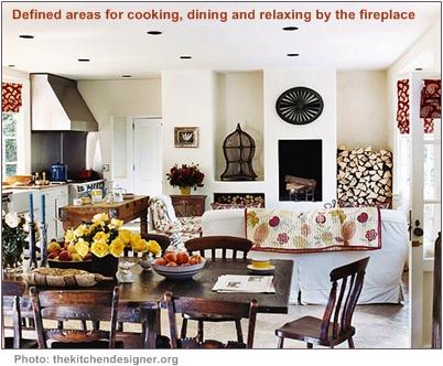 home interior decorating - room areas