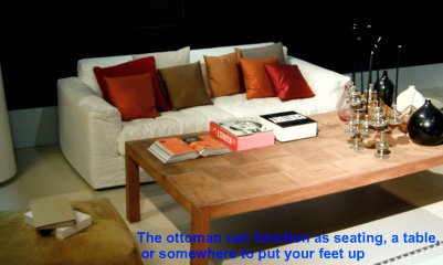 home interior decorating - multifunction furniture