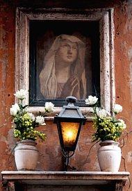 Italian portrait outdoors