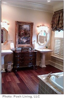 tips for interior decorating formal bathroom