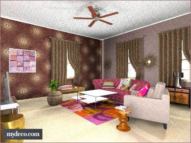 trendy home decor living room