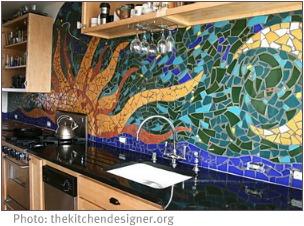 DIY interior decorating movement with murals