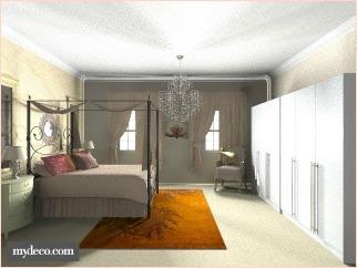 decor glamour bedroom