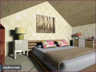 diy home decor sloped ceiling