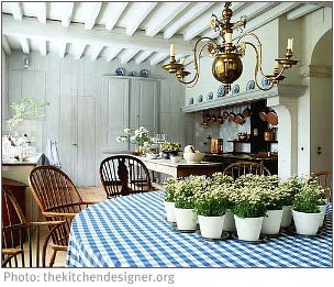 Unity in a country kitchen
