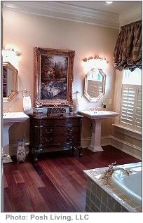 tips for interior decorating formal bathroom
