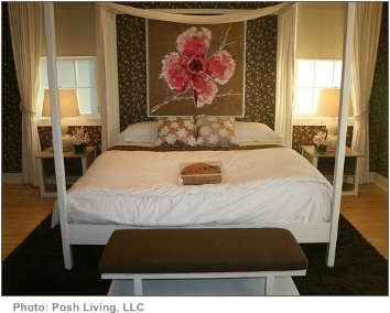 tips for interior decorating all brown formal bedroom